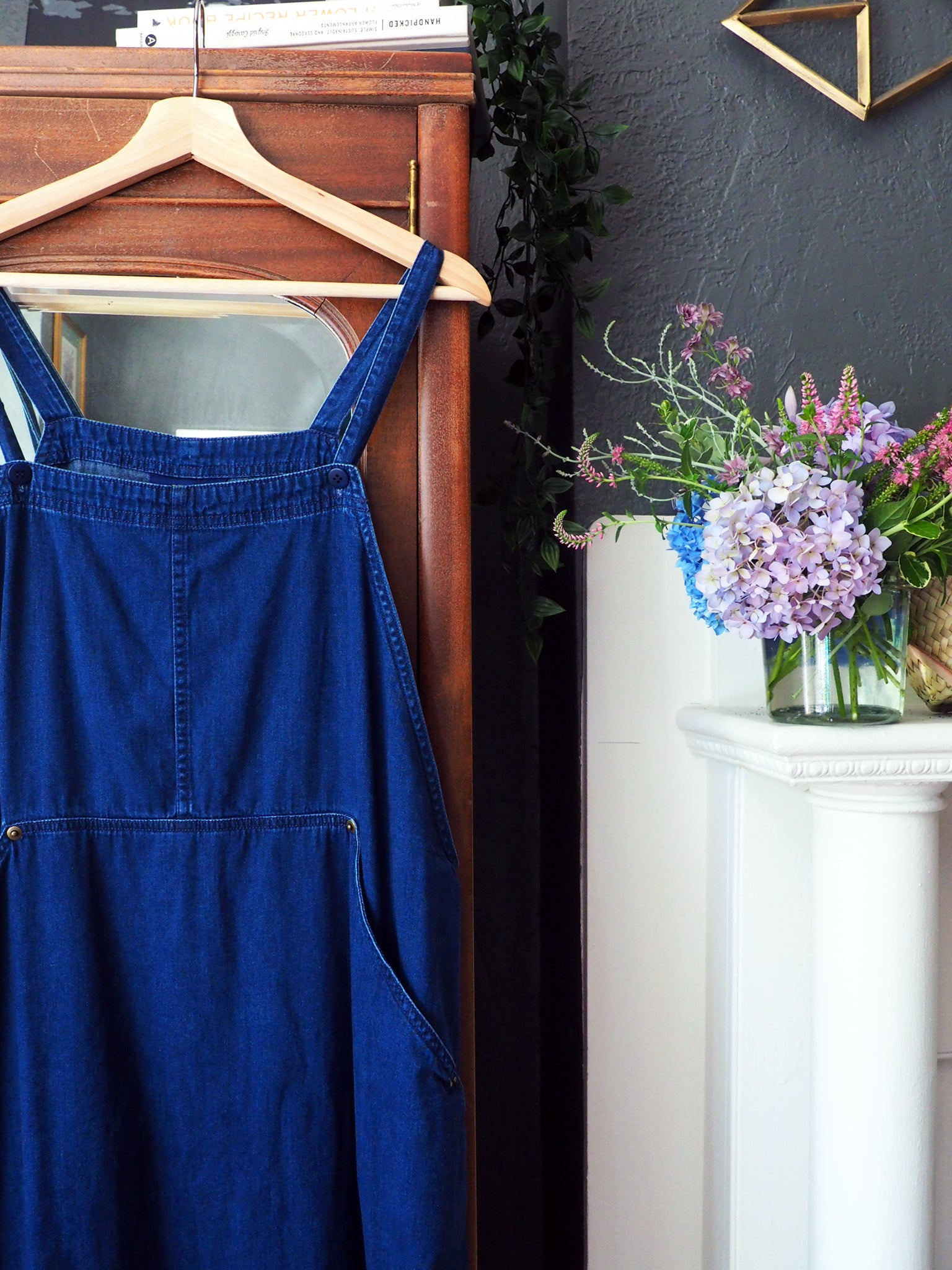 Vintage Denim Plus Size Jumper Dress