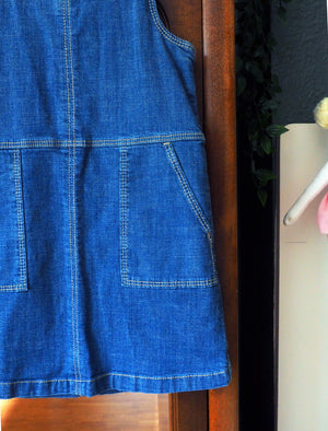 4T GAP Denim Jumper Dress