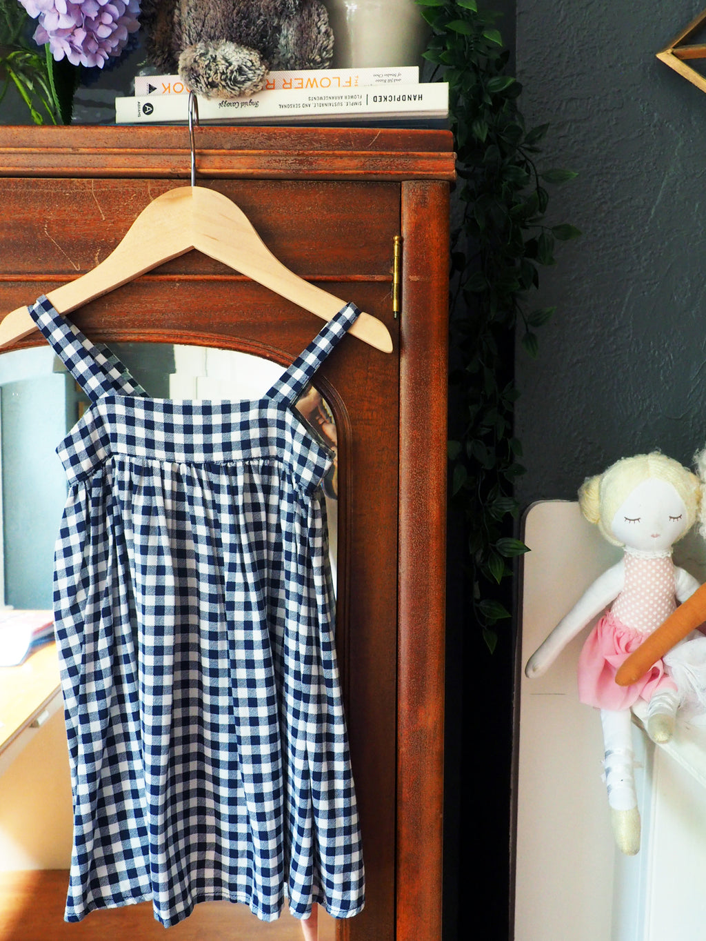 2T Girls Gingham Sundress