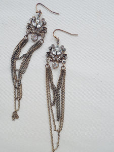 Chain Statement Earrings