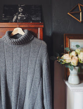 Load image into Gallery viewer, Over Sized Knit Turtleneck Sweater