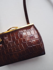 Mini Alligator Cross Body