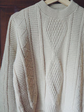 Load image into Gallery viewer, Vintage Cable Knit Sweater