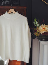 Load image into Gallery viewer, Vintage Off-White Turtleneck Sweater