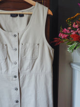 Load image into Gallery viewer, Khaki Button Front Dress