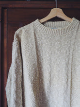 Load image into Gallery viewer, Vintage Cotton Knit Sweater