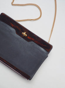 Vintage Two-Toned Clutch