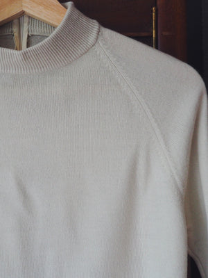 Vintage Cashmere Blend Turtleneck Sweater