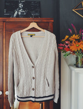 Load image into Gallery viewer, Cable-Knit Cardigan