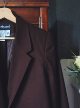 Load image into Gallery viewer, Vintage Brown Wool Blazer