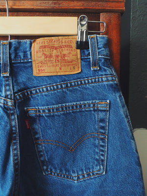 Vintage 550 Levis made in USA
