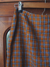 Load image into Gallery viewer, 90s Plaid Wrap Skirt