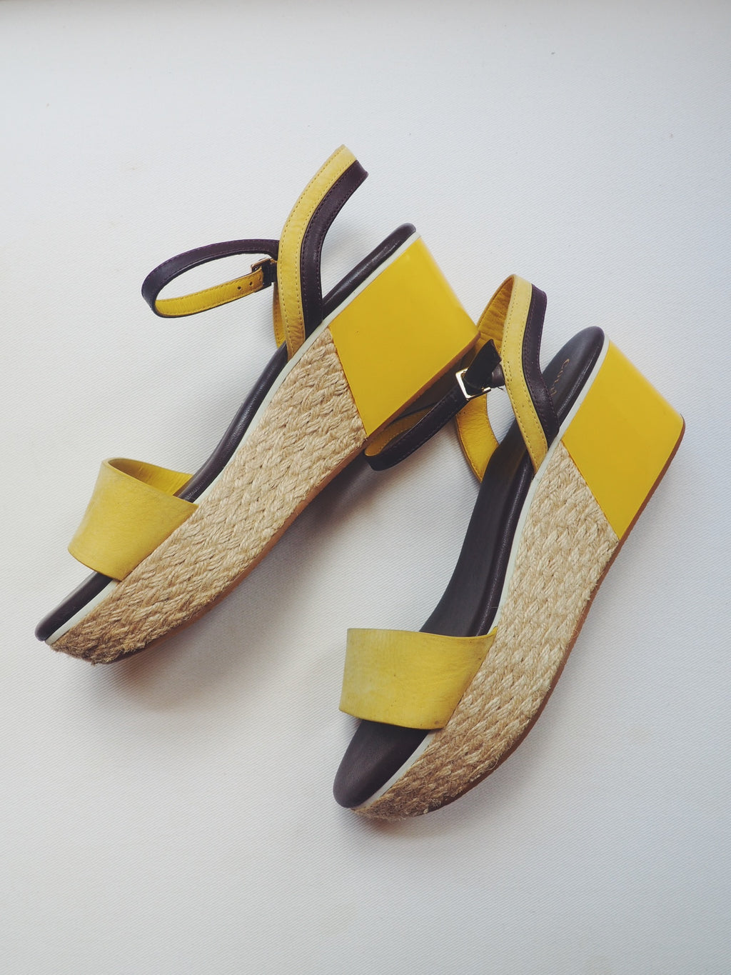Cole Hahn Color Block Platforms