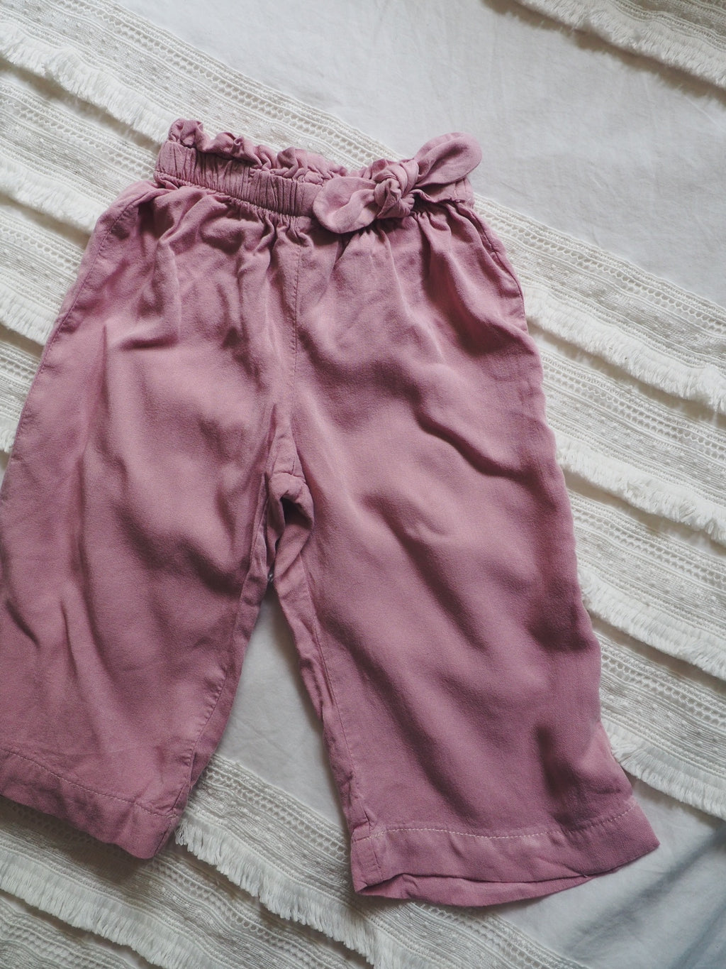 Baby Girls Rose Pink Pants