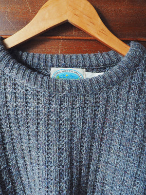 90s Men's Knit Fisherman Sweater