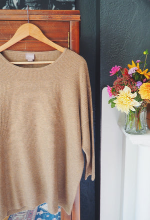 NEW Chico's Oversized Boxy Sweater