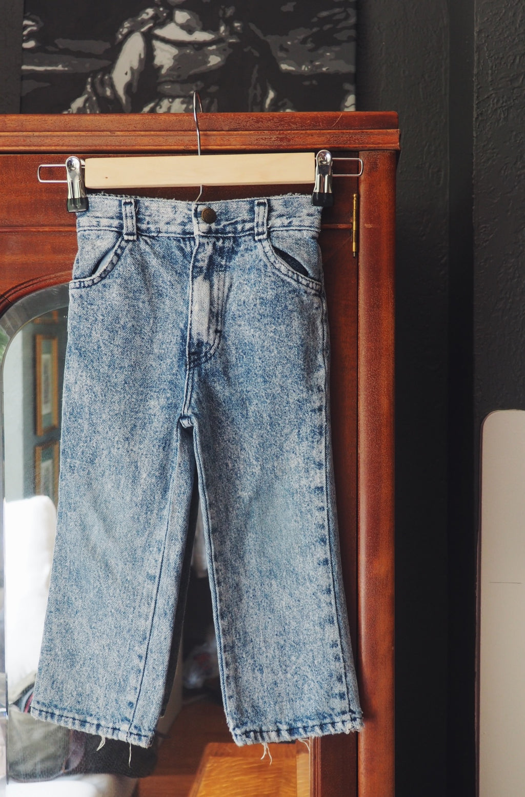 Vintage Toddler Stonewash 80s Denim