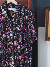Load image into Gallery viewer, Vintage Floral Button Front Dress
