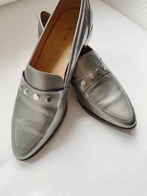 Wirth Metallic Loafers