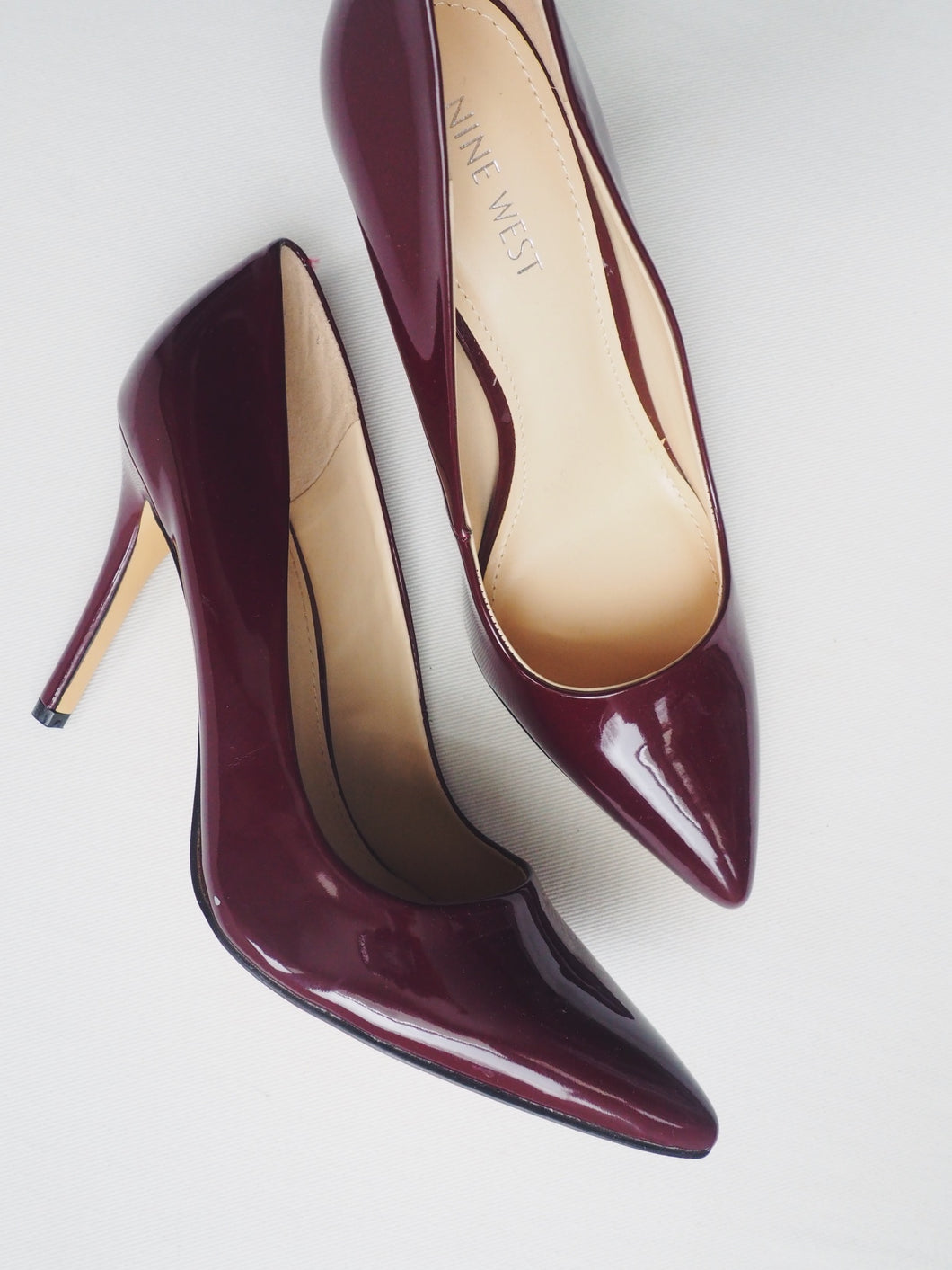 Nine West Burgundy Pumps