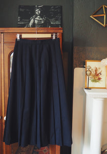 Vintage Made in the USA Pinstripe Midi Skirt