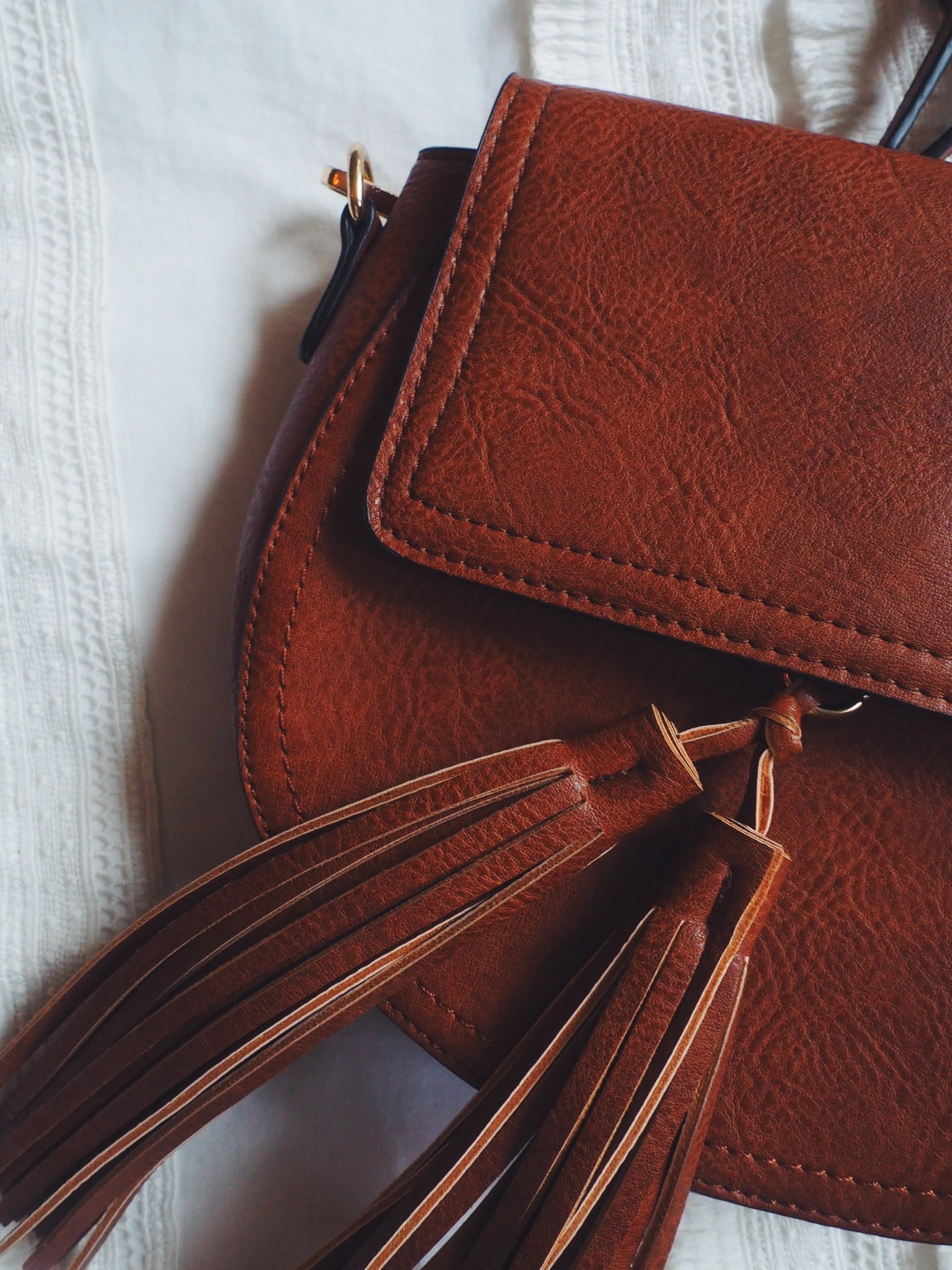 Saddle Crossbody Purse