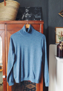 Brooks Brothers 100% Wool Turtleneck