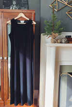 Load image into Gallery viewer, Vintage 90s Velvet Sleeveless Maxi