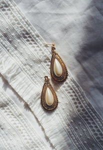 Vintage Pearl Drop Statement Earring