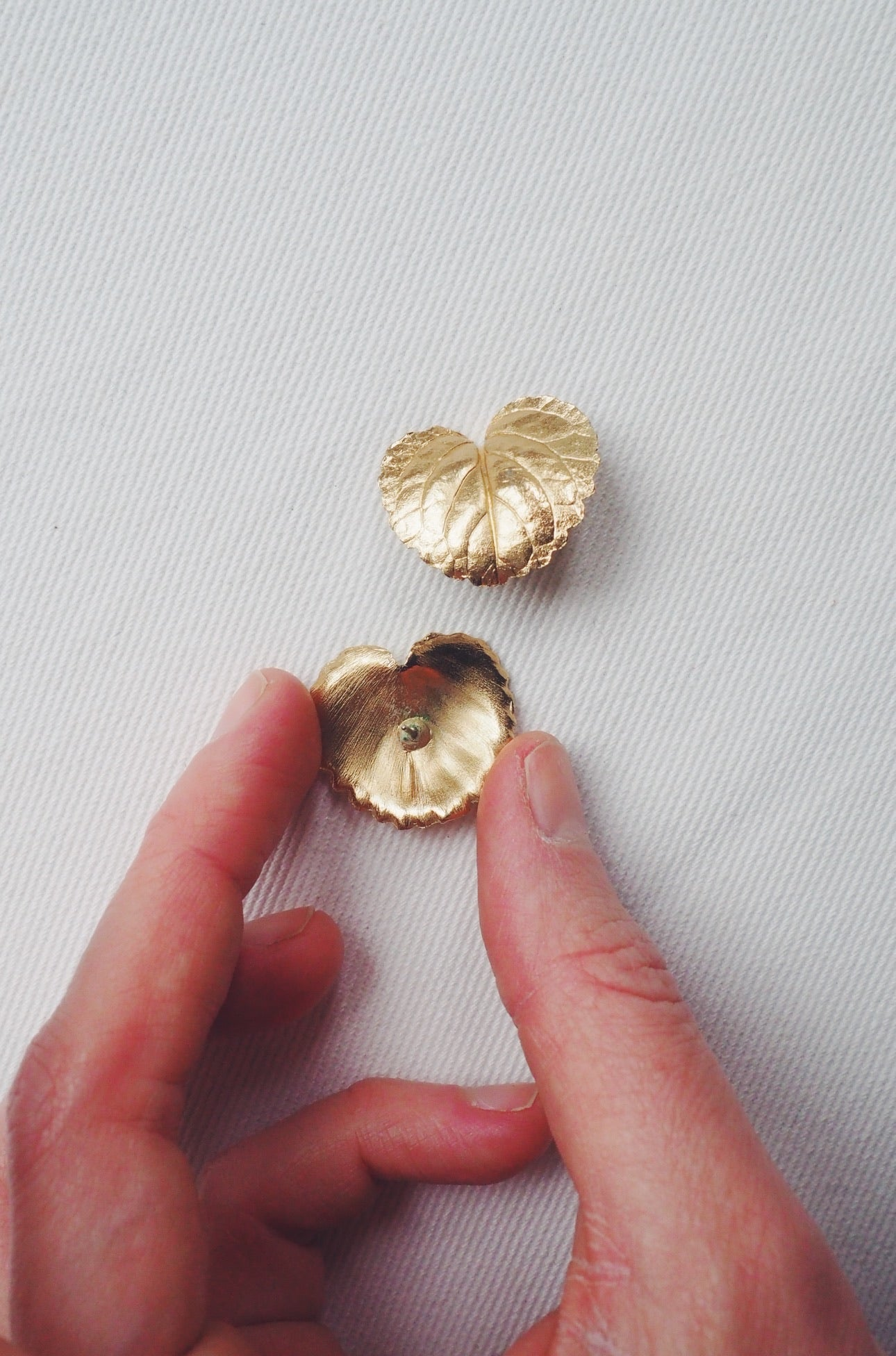 Vintage Foliage Statement Studs