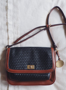 Vintage Liz Claiborne Two-Tone Cross Body
