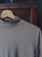 Load image into Gallery viewer, Super Soft Cotton Neutral Mockneck