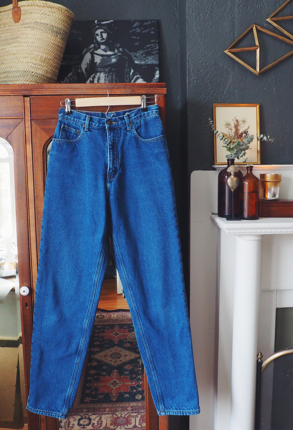 Eddie Bauer High-Waisted Jeans