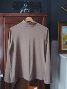 Super Soft Cotton Neutral Mockneck