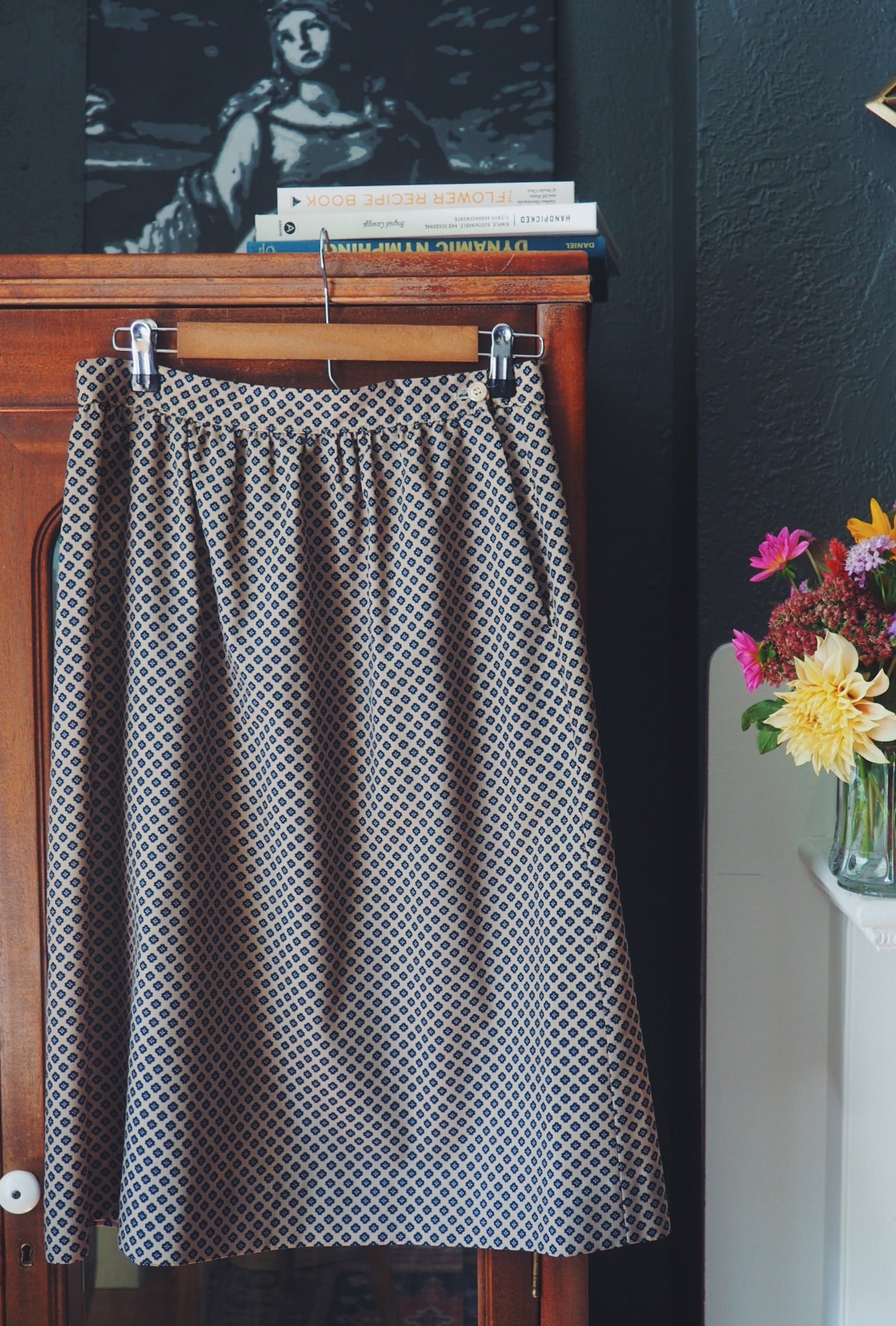 Made in the USA Vintage A-line Skirt