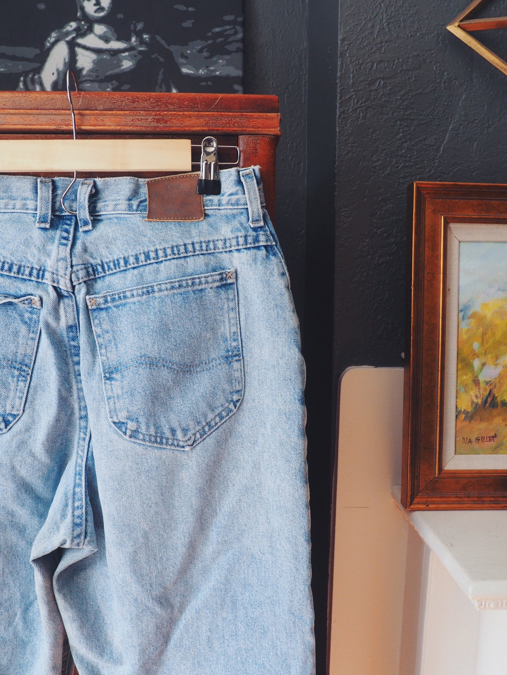 Vintage Lee High Waist Denim