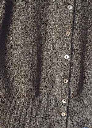 100% Cashmere Cropped Cardigan