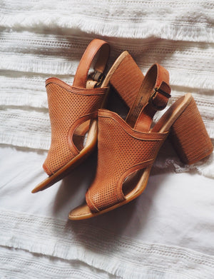 Born Sling-Back Heeled Sandals