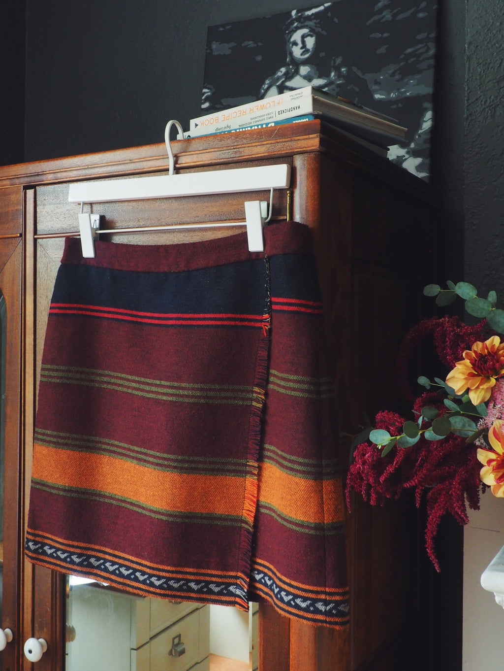 LOFT Wool Wrap Skirt