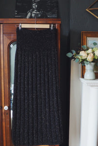 Vintage Sweater Column Skirt