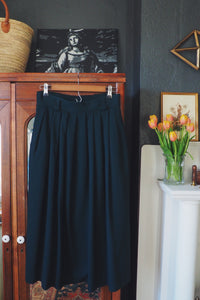 Made in the USA Vintage A-Line Midi Skirt