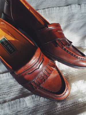 Cole Haan Leather Loafers