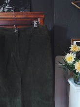 Load image into Gallery viewer, Suede Midi Skirt