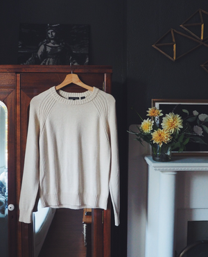 Cotton Cream Sweater