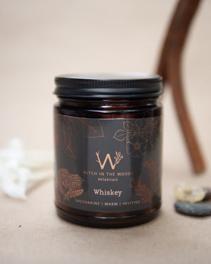 Soy Candle // Whiskey