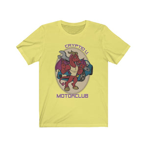 Cryptid University - Jersey Devil Motor Club Tee