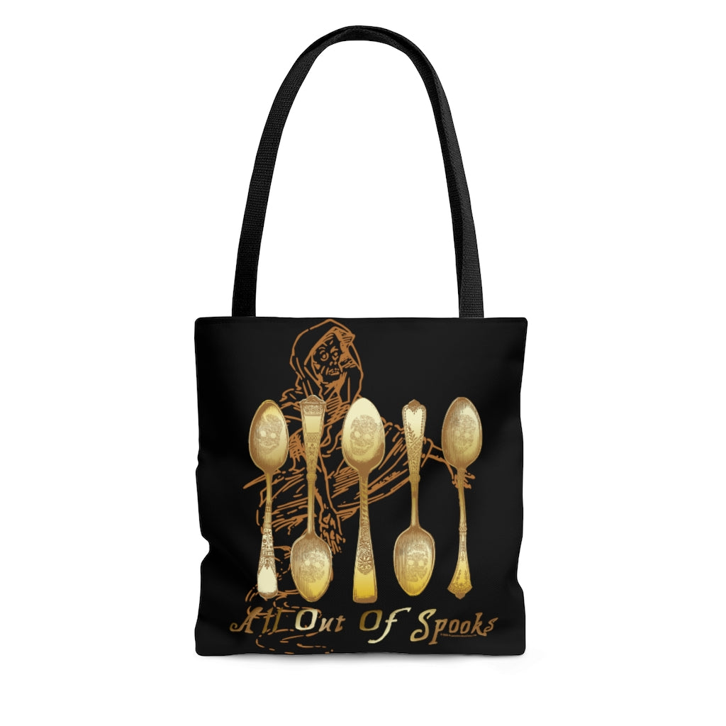 All Out of Spooks Tote Bag