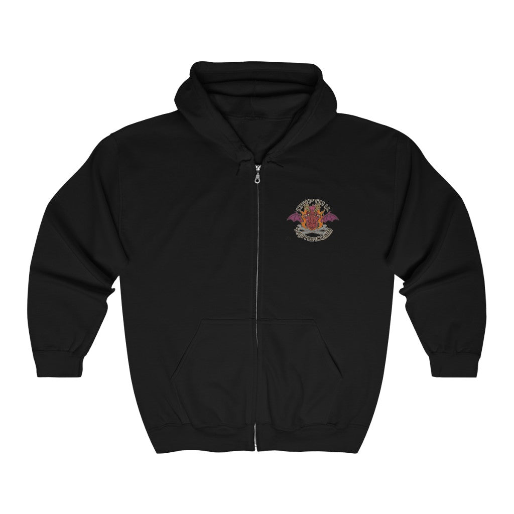 Cryptid University - Jersey Devil Zip Up Hoodie