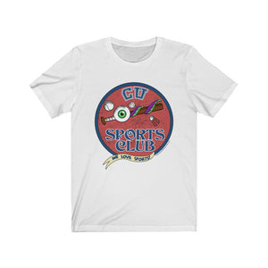 Cryptid University - Sports Club Unisex Tee (Bright)