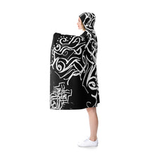 Load image into Gallery viewer, Mystic Raven - Magical Malcontent Robe - Hooded Blanket - Cryptic - Fleece
